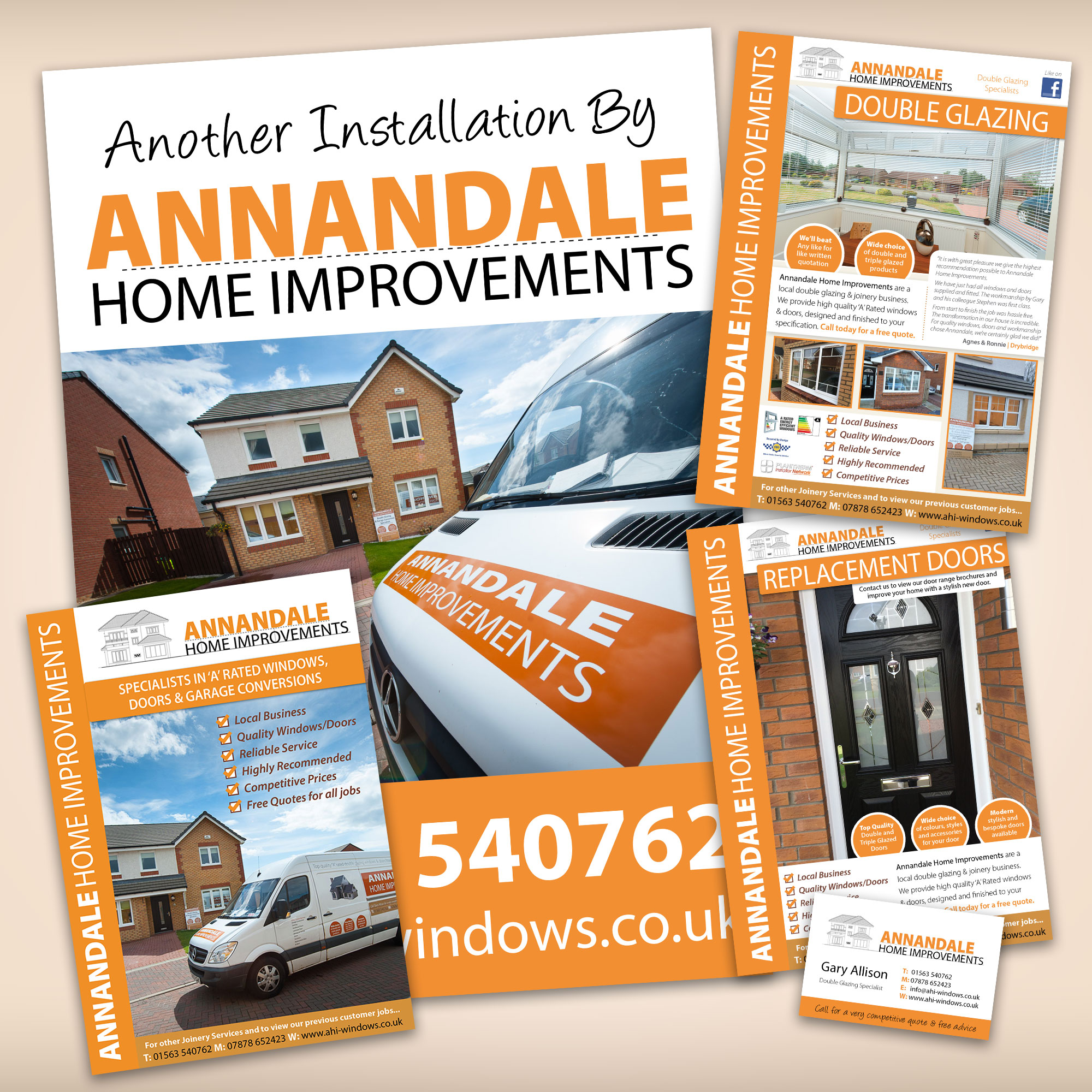 Annandale Home Improvements Graphic Design