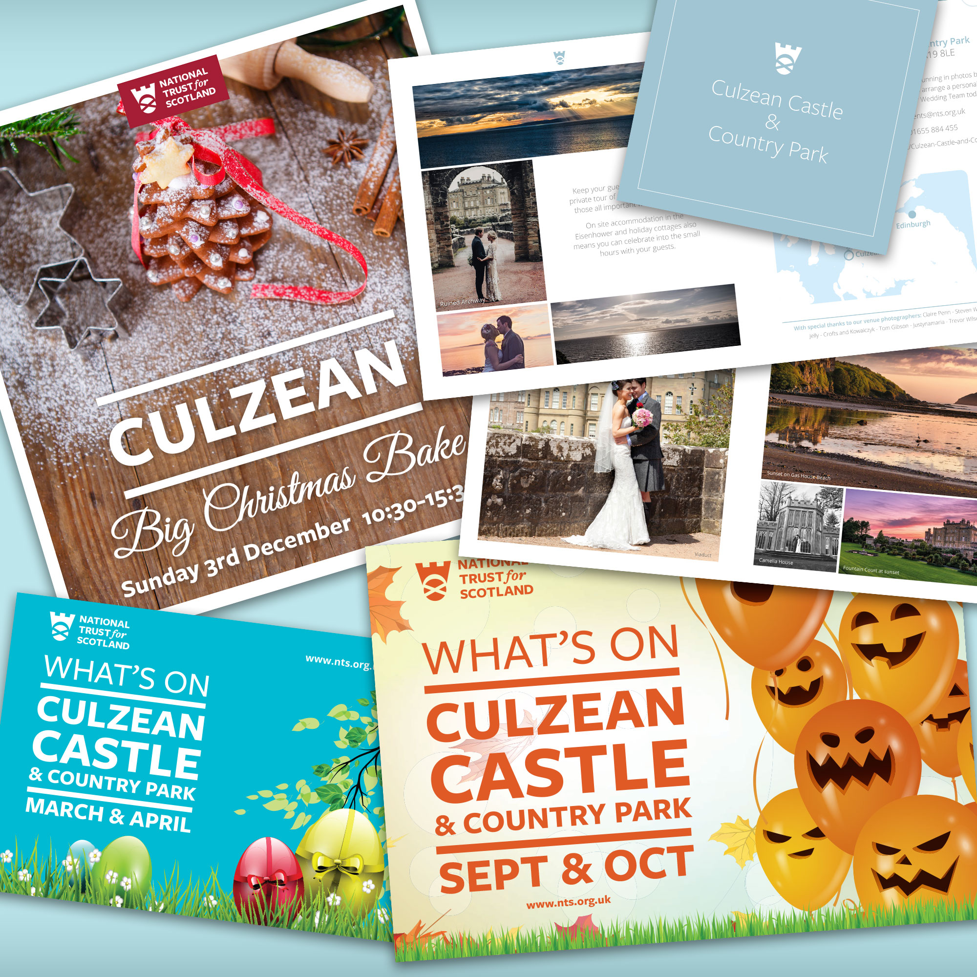 Culzean Castle Graphic Design