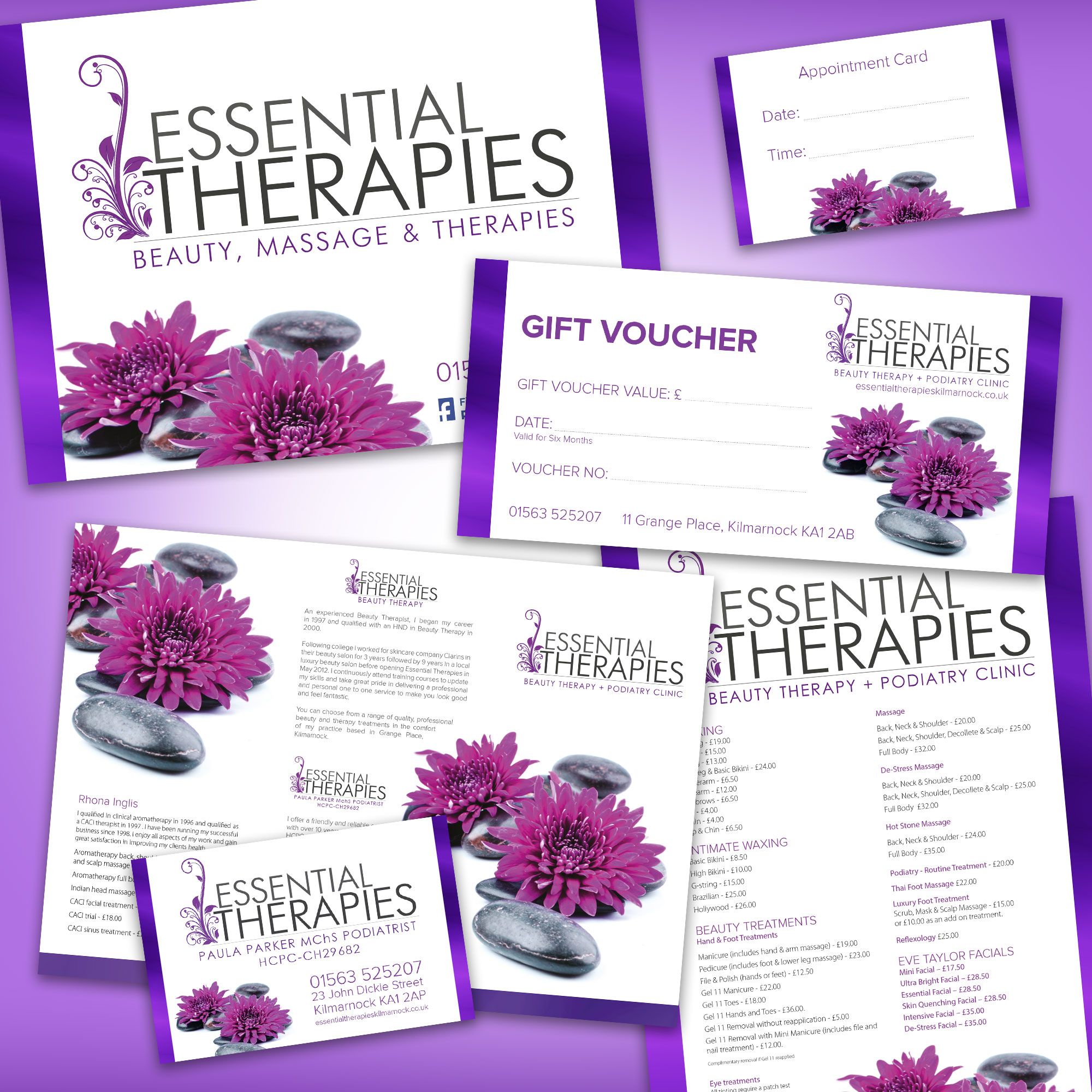 Essential Therapies Graphic Design