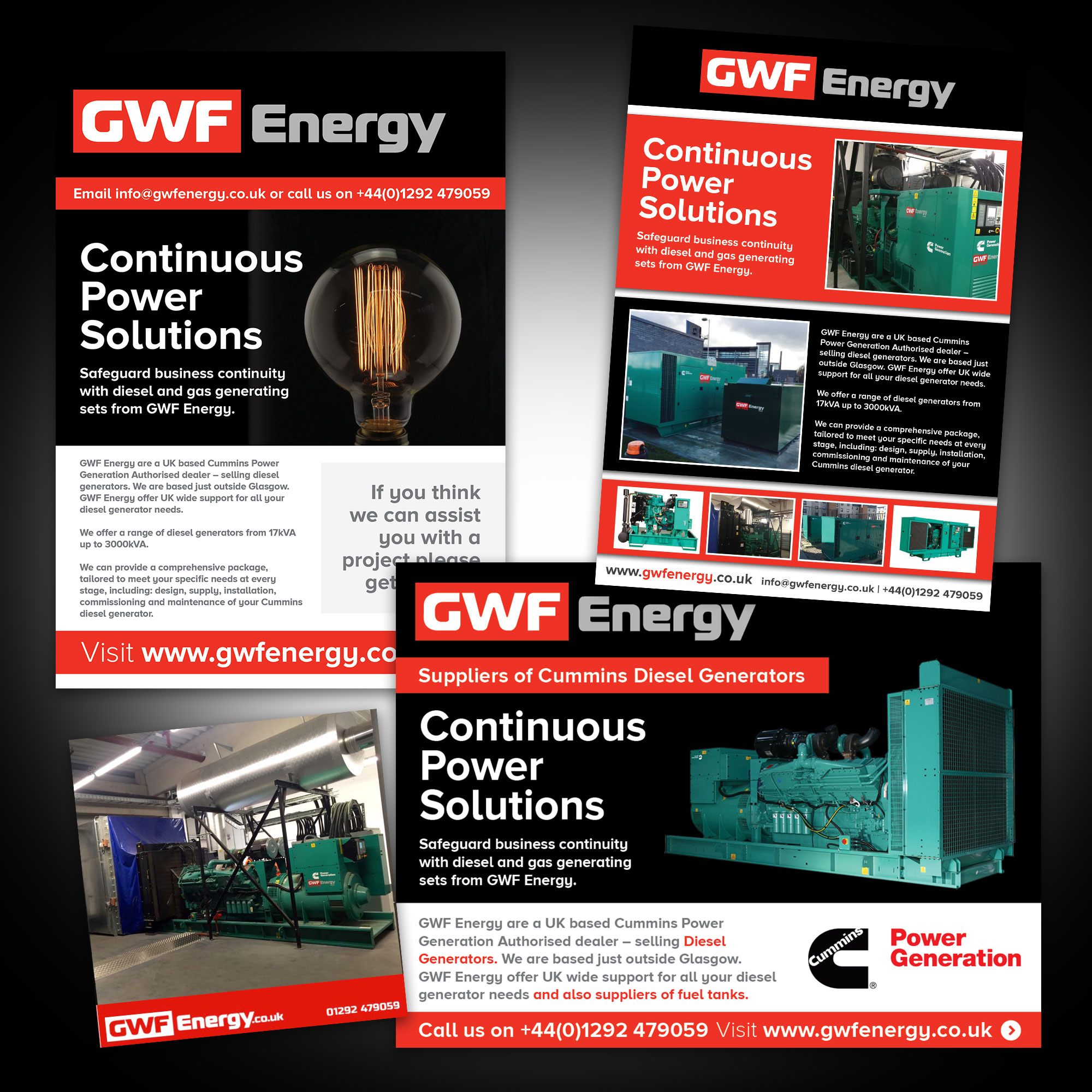 GWF Energy Graphic Design