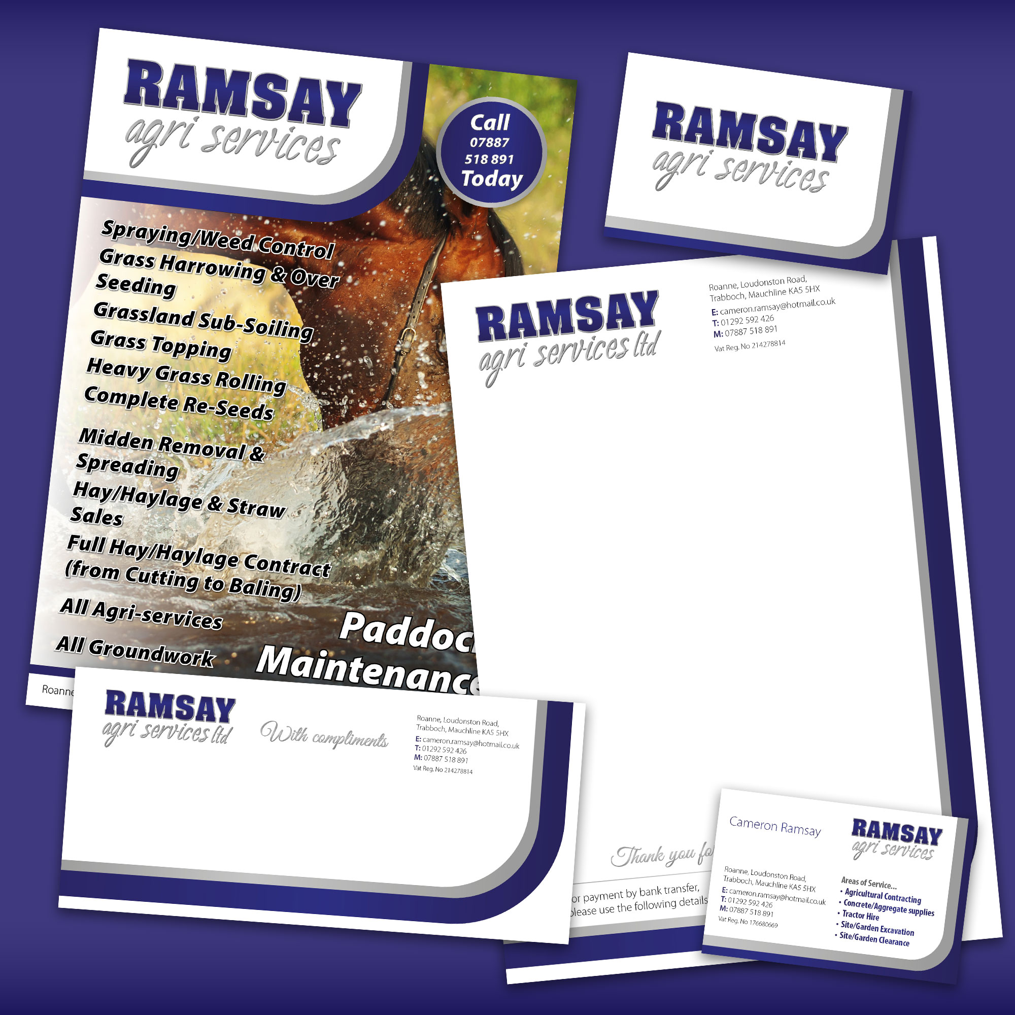 Ramsay Agri Graphic Design