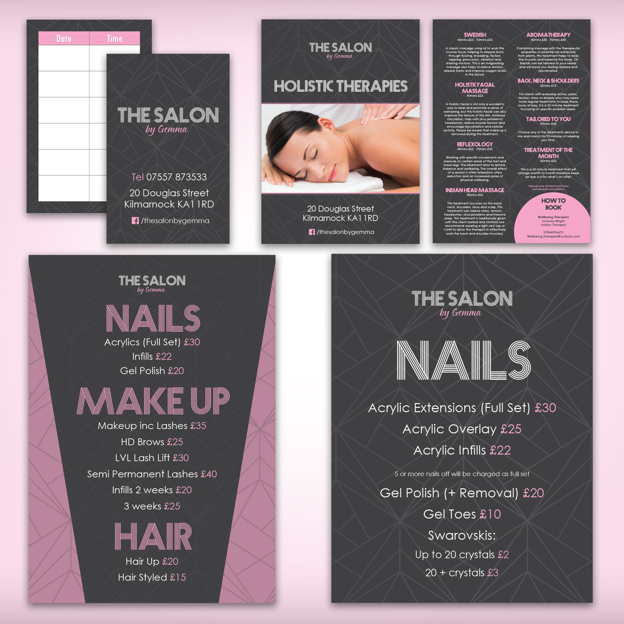 The Salon Graphic Design