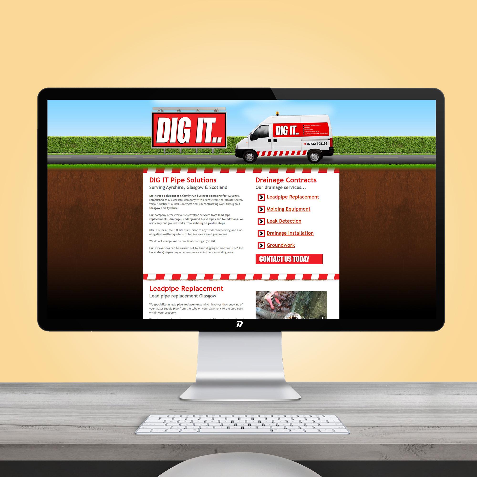 Website Design Dig It