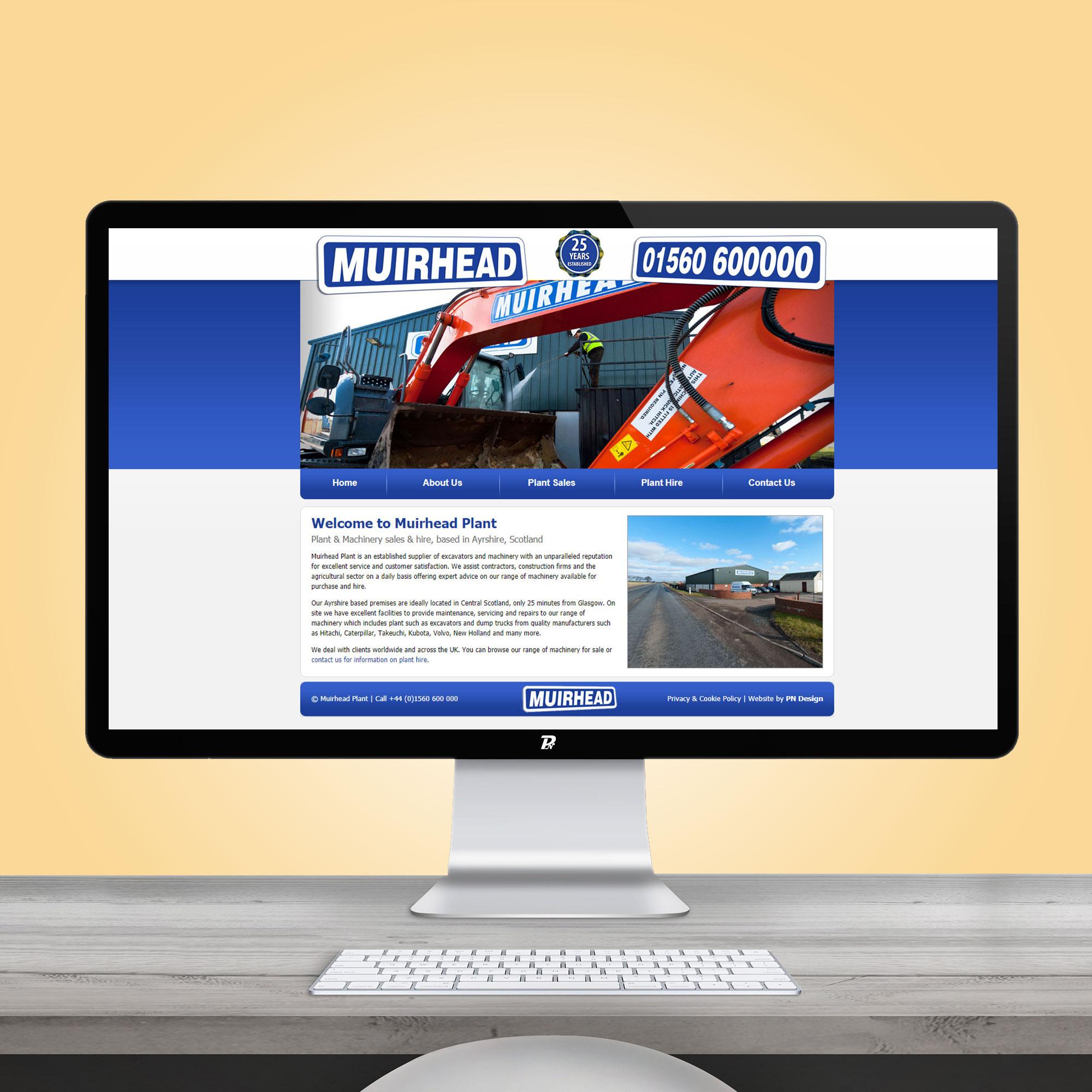 Website Design Muirhead Plant