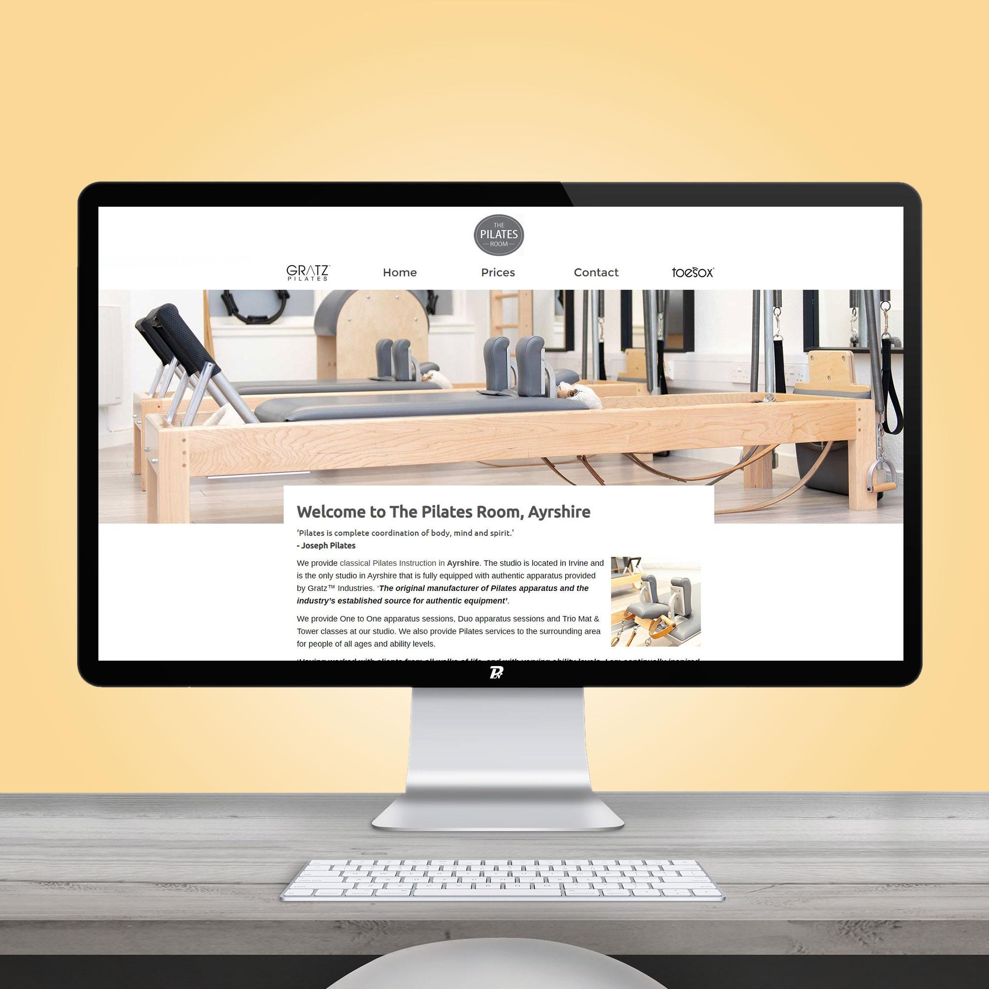 Website Design Ayrshire Pilates