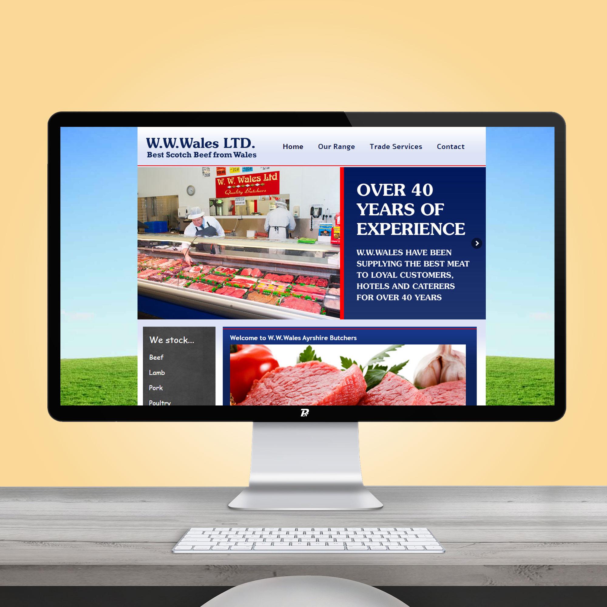 Website Design WW Wales