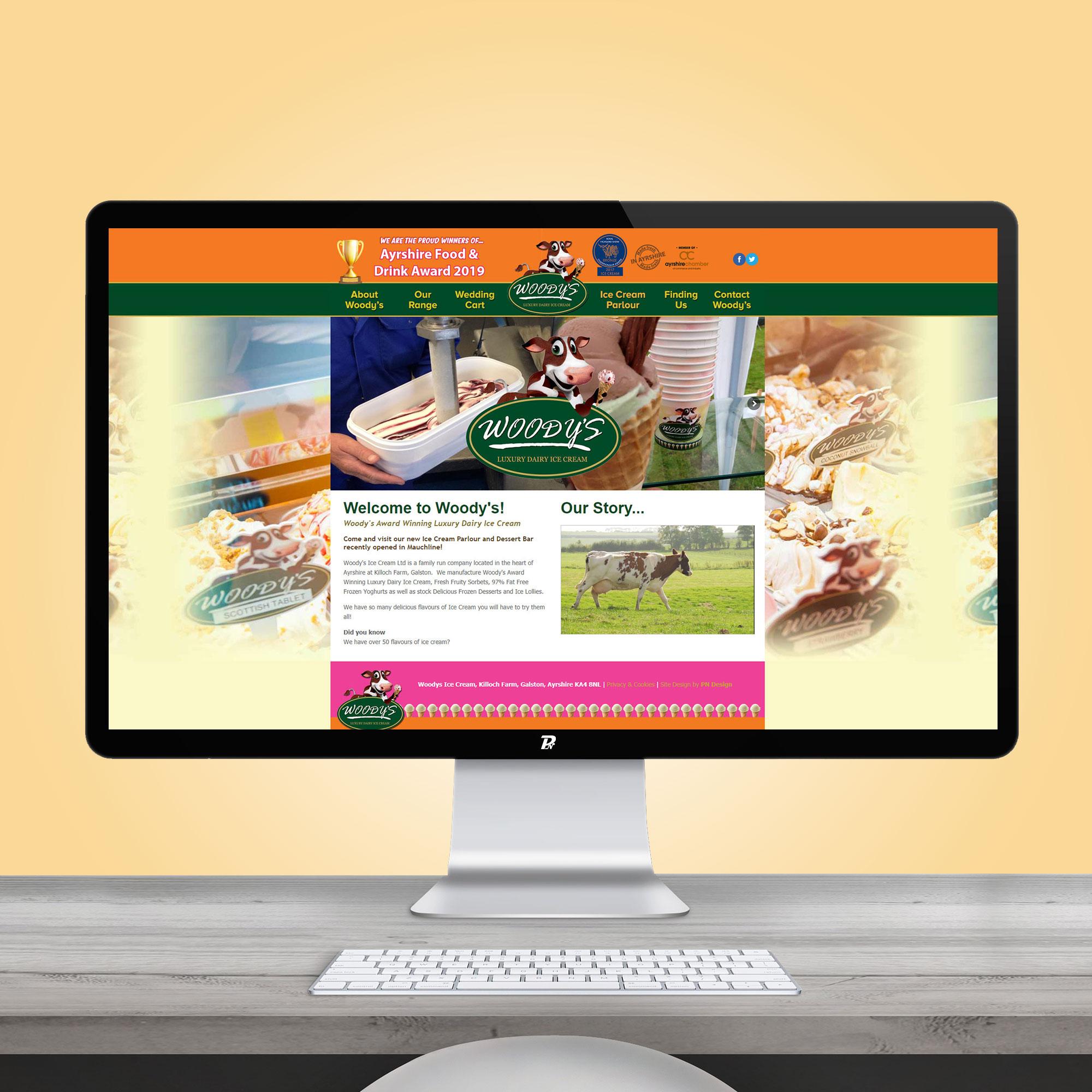 Website Design Woodys