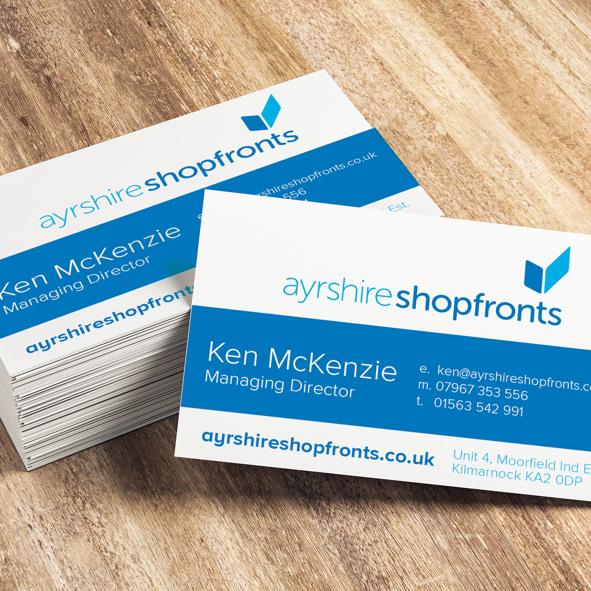 Business Card Design Ayrshire
