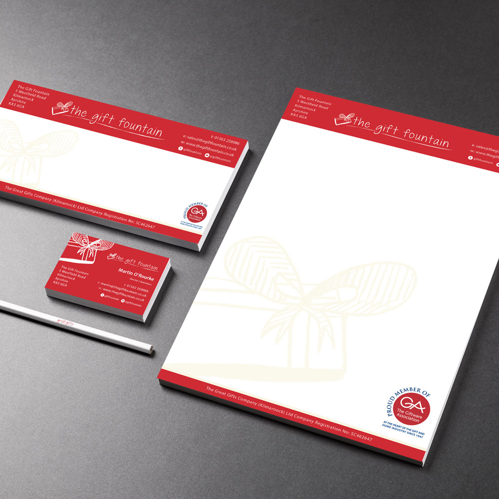 Stationery Design Kilmarnock